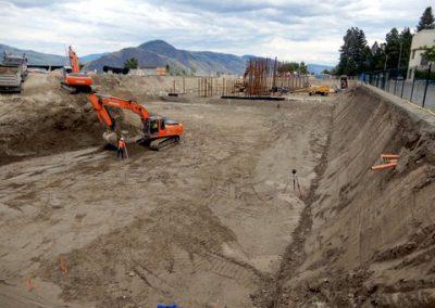 Legacy Square at TRU digging